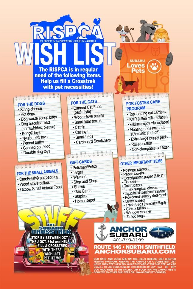 wish list poster.12x18